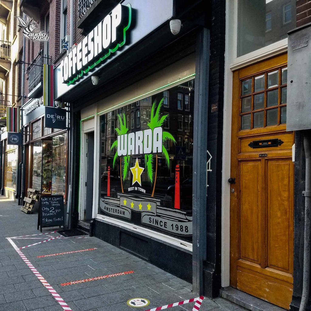 When Coronavirus first hit the Netherlands, all coffeeshops were forced to close doors while measures were placed to allow them to reopen for take away only.