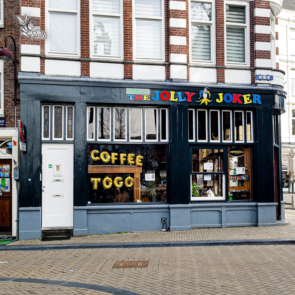 Since mid-October, coffeeshops in the Netherlands have remained open for take-away only options.