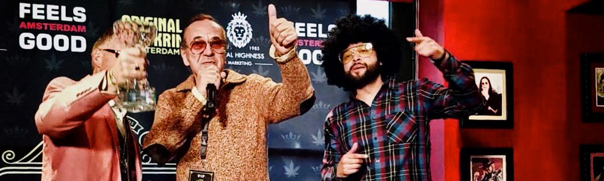 Ben Dronkers Lifetime Achievement Jack Herer Cup Amsterdam