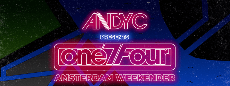 Andy C Weekender One7Four Amsterdam