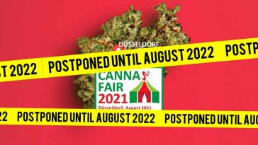 Germany's cannabis exposition, Cannafair 2021, postpones to August 2022 due to COVID-19