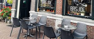 Amsterdam coffeeshops look to reopen terraces on March 31.