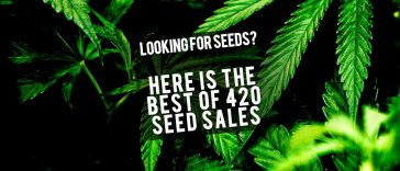 We've compiled a list of all the best seed sales during this years 420! Get your green thumb on this 420.